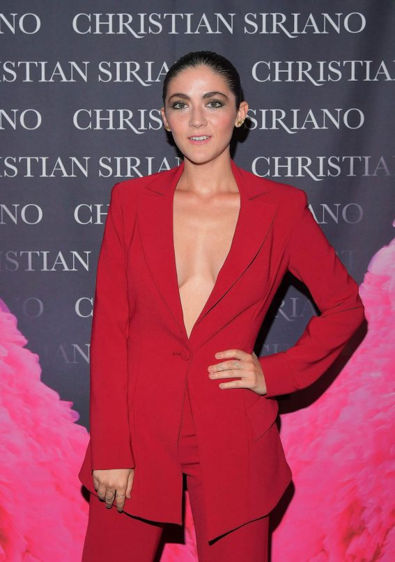 Isabelle Fuhrman Stills at Christian Siriano's Celebrates Launch of His New Book Dresses