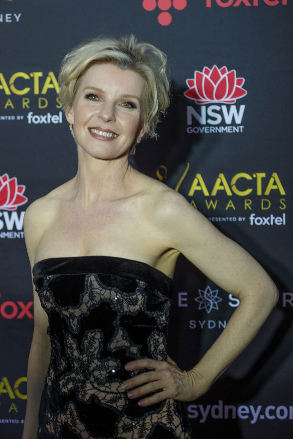 Jacqueline McKenzie Stills at 2017 AACTA Awards in Sydney 2017/12/06