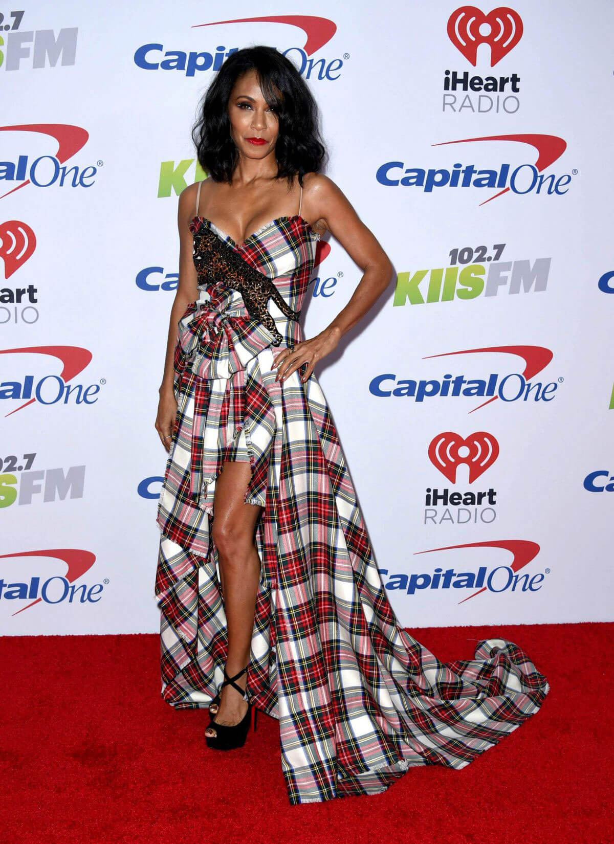 Jada Pinkett Smith Stills at 102.7 KIIS FM's Jingle Ball in Los Angeles
