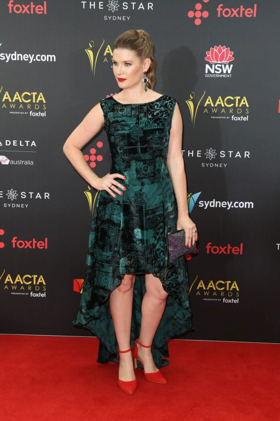 Jana Wilkes Stills at 2017 AACTA Awards in Sydney 2017/12/06