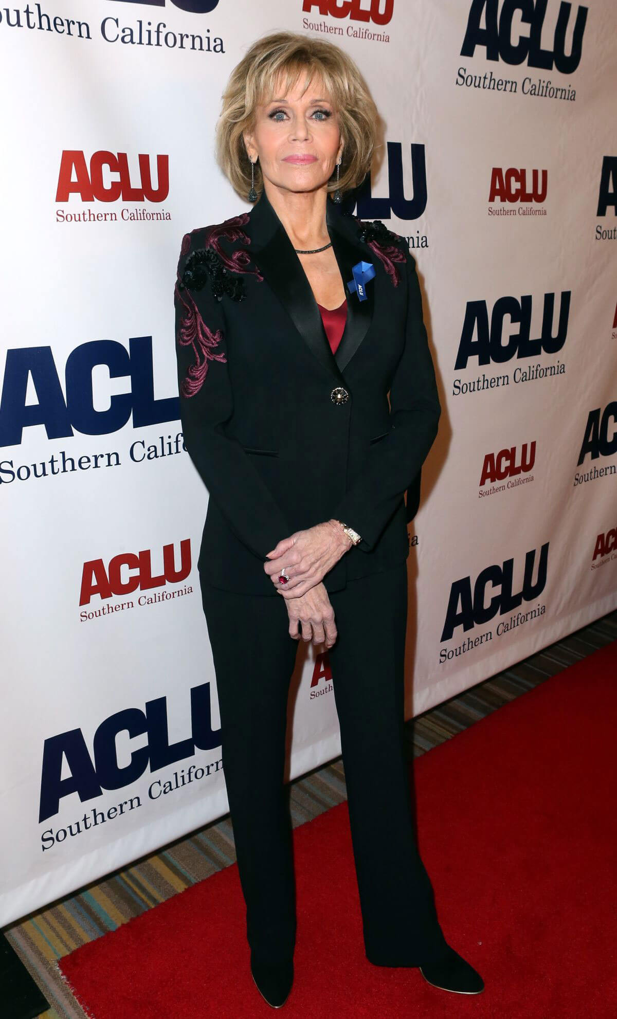 Jane Fonda Stills at Aclu Socal's Annual Bill of Rights Dinner in Los Angeles 2017/12/03