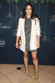 Jeanine Mason Stills at Brooks Brothers Holiday Celebration with St Jude Children's Research Hospital in Beverly Hills