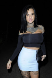 Jemma Lucy Stills Night Out in Manchester 2017/12/22