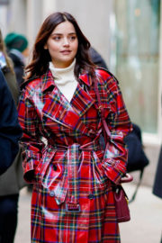 Jenna Coleman Stills at Cosmo's 100 Most Powerful Women Luncheon in New York 2017/12/11