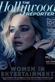 Jennifer Lawrence Poses for The Hollywood Reporter, December 2017