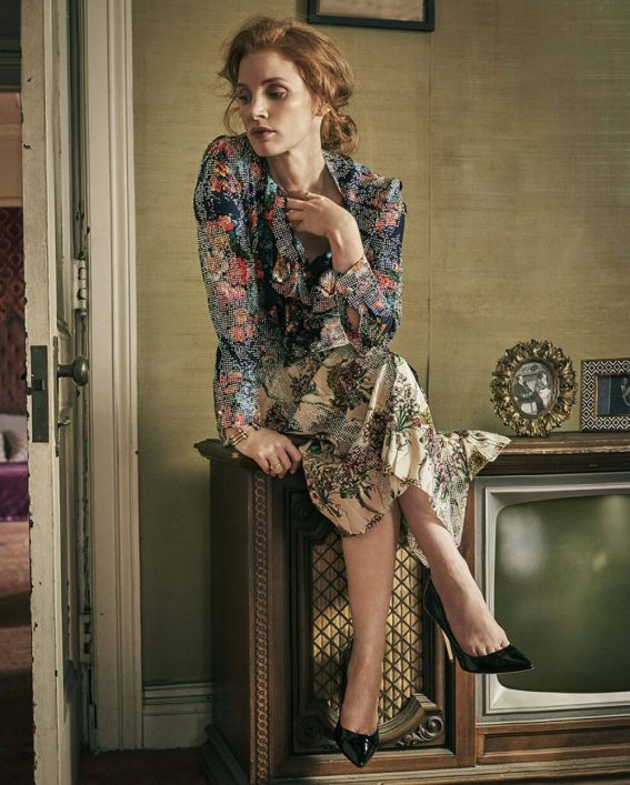 Jessica Chastain Stills in Citizen K Magazine, December 2017 Issue