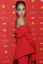 Joan Smalls Stills at The Assassination of Gianni Versace: American Crime Story Premiere in New York 2017/12/11