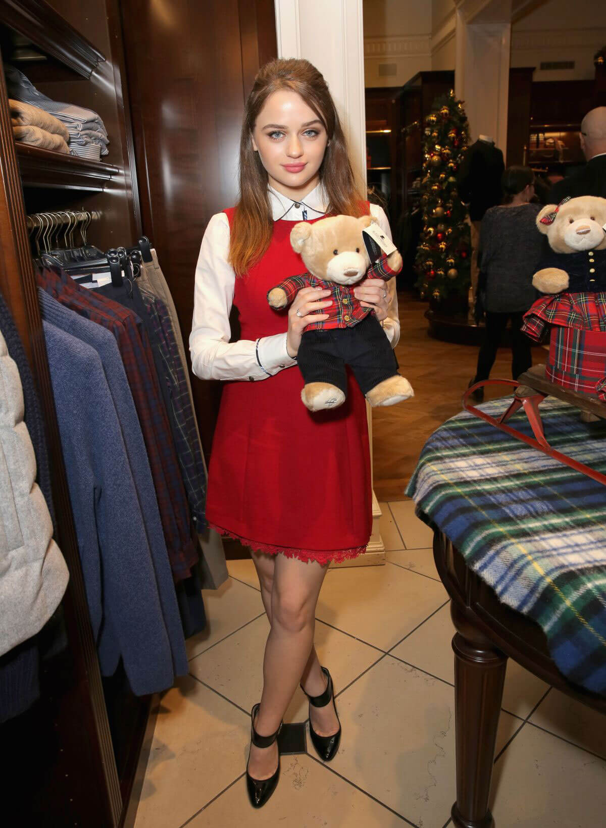 Joey King Stills at Brooks Brothers Holiday Celebration with St Jude Children's Research Hospital