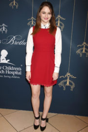Joey King Stills at Brooks Brothers Holiday Celebration with St Jude Children's Research Hospital in Beverly Hills 2017/12/02