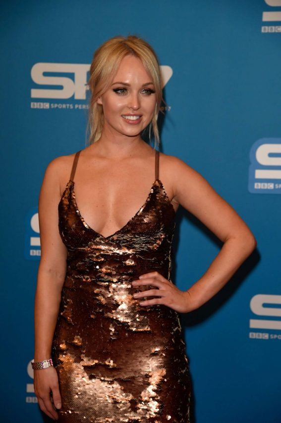 Jorgie Porter Stills at Sports Personality of the Year Awards in Liverpool 2017/12/17