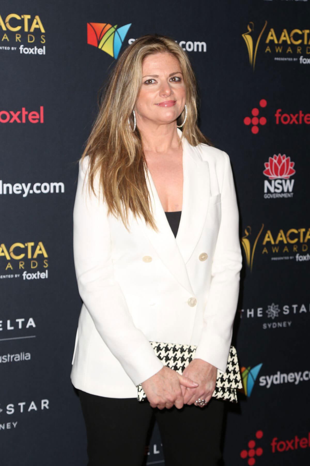 Julia Zemiro Stills at Australian Academy Cinema Television Arts Awards Luncheon in Sydney 2017/12/04