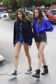 Kaia Gerber Stills Out in Los Angeles 2017/12/10