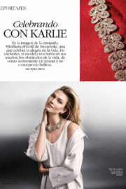 Karlie Kloss Poses in Marie Claire Magazine, Latin America December 2017