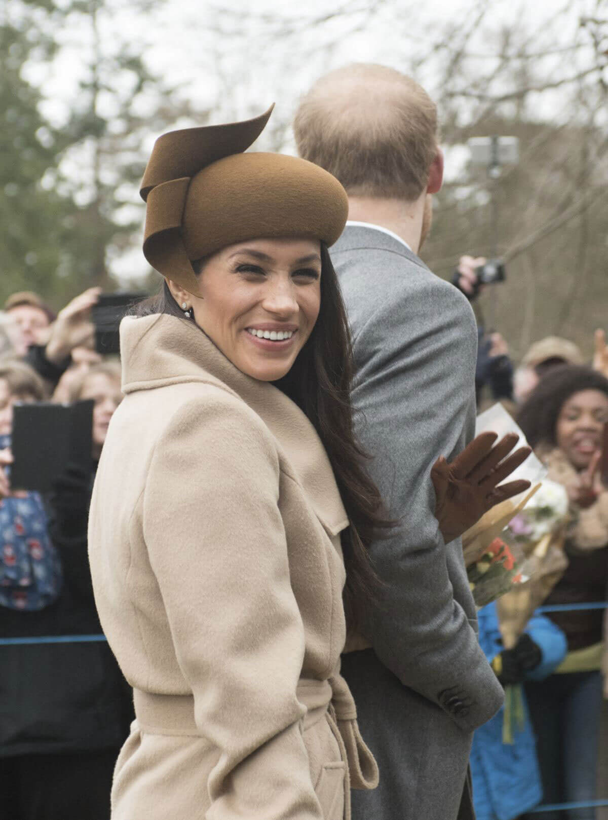 kate middleton and meghan markle stills at christmas day