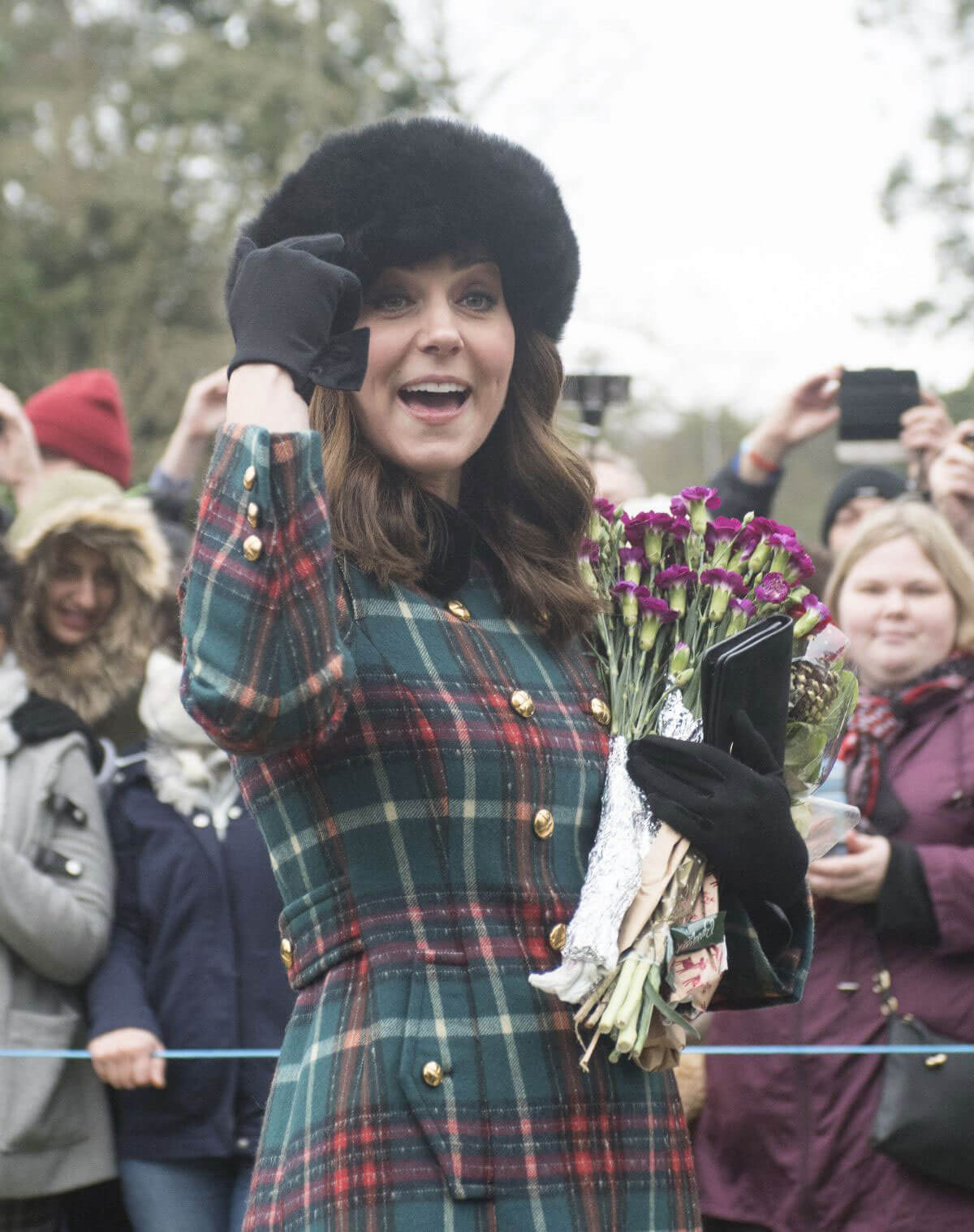 Kate Middleton and Meghan Markle Stills at Christmas Day Service in ...