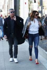 Katharine McPhee and David Foster Stills Out Shopping in Beverly Hills 2017/12/17