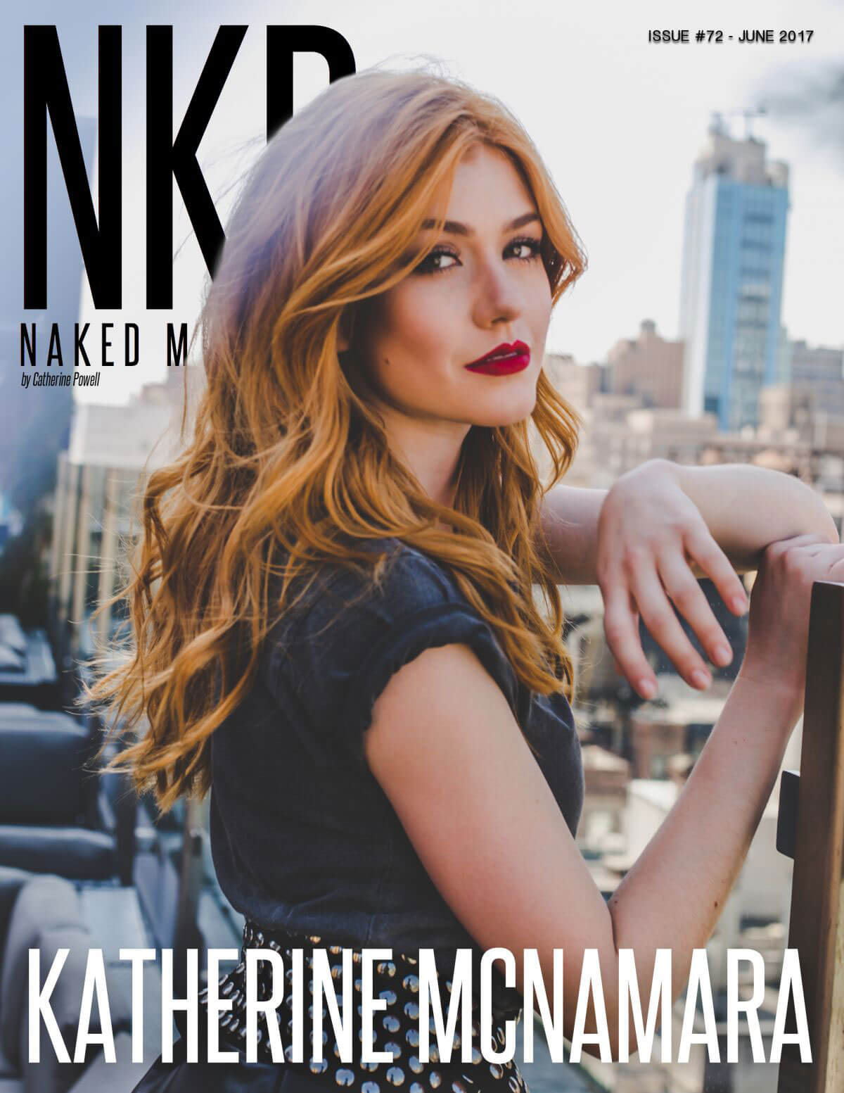 Katherine McNamara Stills in NKD Magazine, Issue #72 June 2017