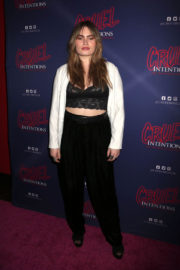 Kathryn Gallagher Stills at Cruel Intentions 90's Musical Experience Opening Night in New York 2017/12/11