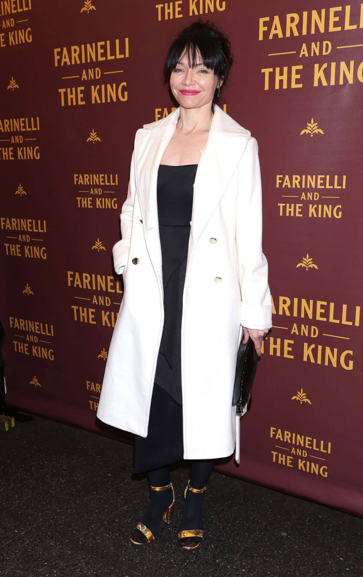 Katrina Lenk Stills at Farinelli and the King Broadway Opening Night in New York 2017/12/17
