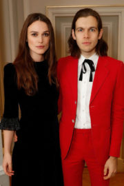 Keira Knightley and James Righton Stills at mothers2mothers Winter Fundraiser in London