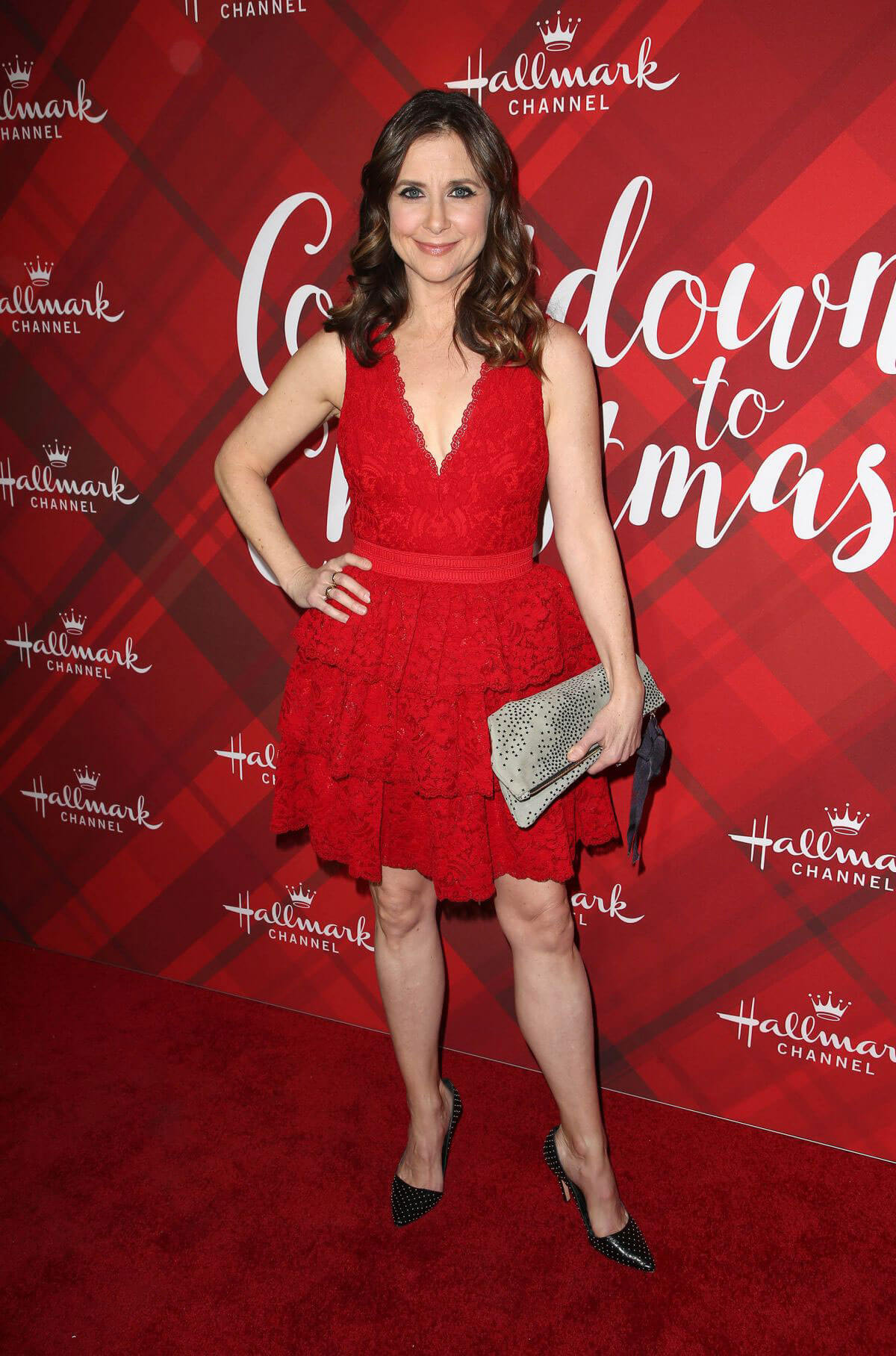 Kellie Martin Stills at Christmas at Holly Lodge Screening in Los Angeles 2017/12/04