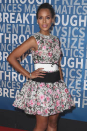 Kerry Washington Stills at 6th Annual Breakthrough Prize Ceremony in Mountain View 2017/12/03