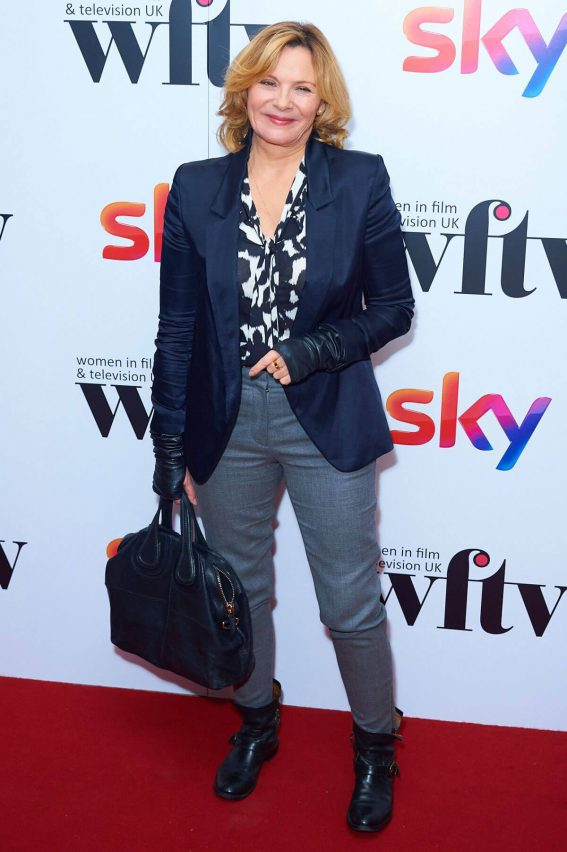 Kim Cattrall Stills at 2017 Sky Women in Film and TV Awards in London