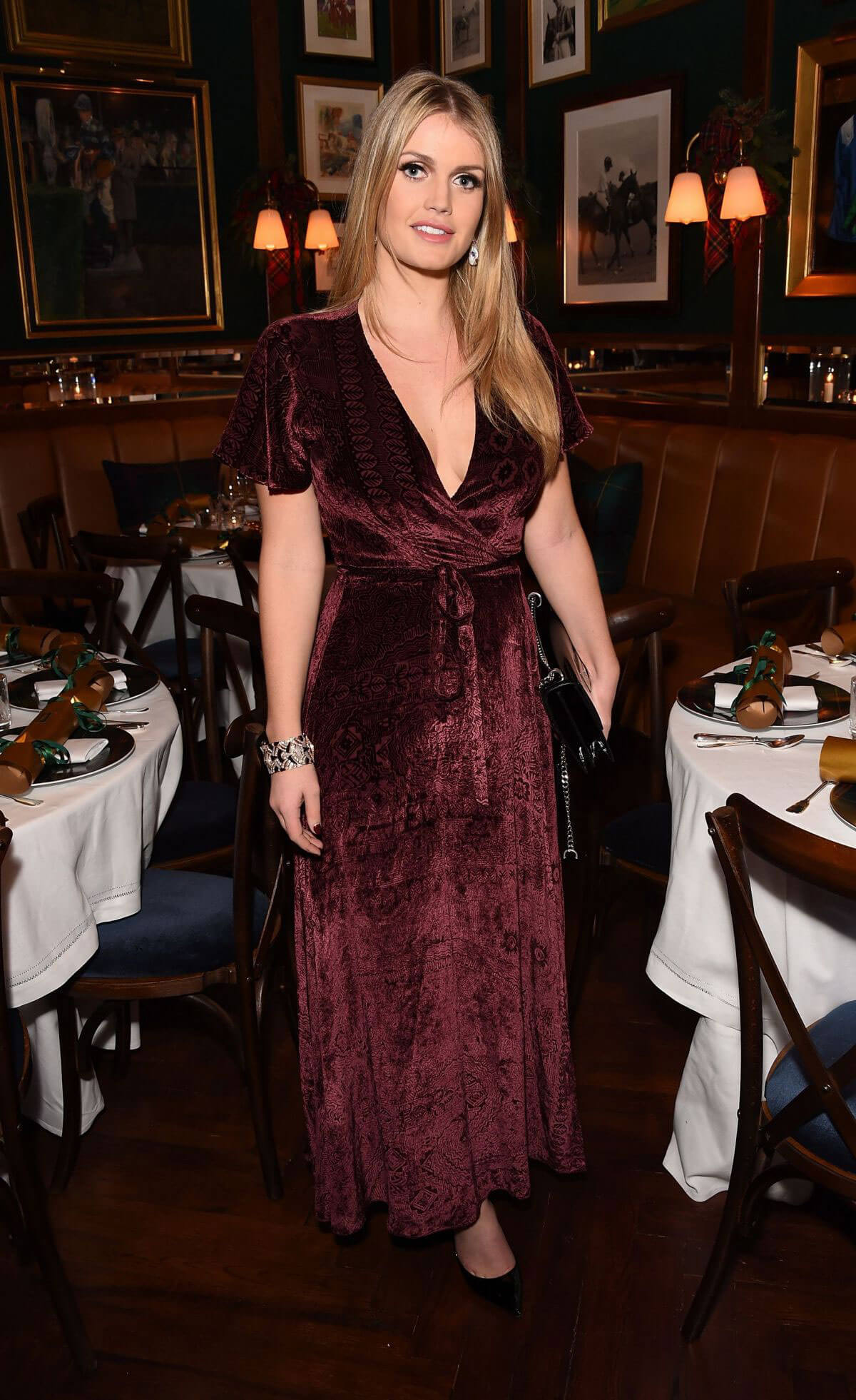 Kitty Spencer Stills at Polo Bear Holiday Dinner at Ralph's Coffee & Bar in London 2017/12/05