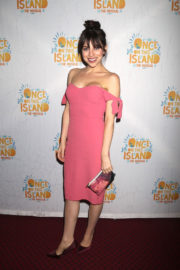 Krysta Rodriguez Stills at Once on This Island Broadway Openingh Night in New York 2017/12/03