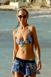 Lady Victoria Hervey Stills on Holiday in Barbados 2017/12/27