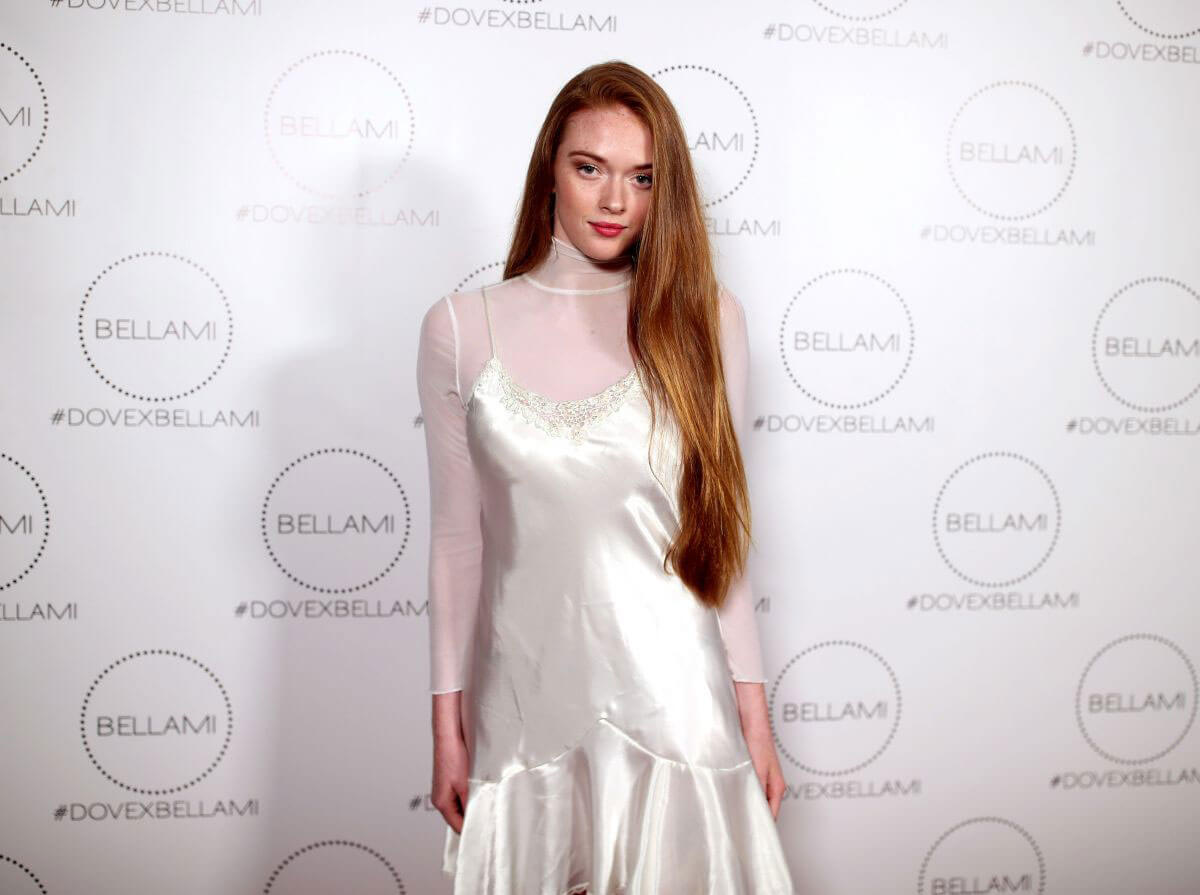 Larsen Thompson Stills at Dove x Bellami Collection Launch Party in Culver City