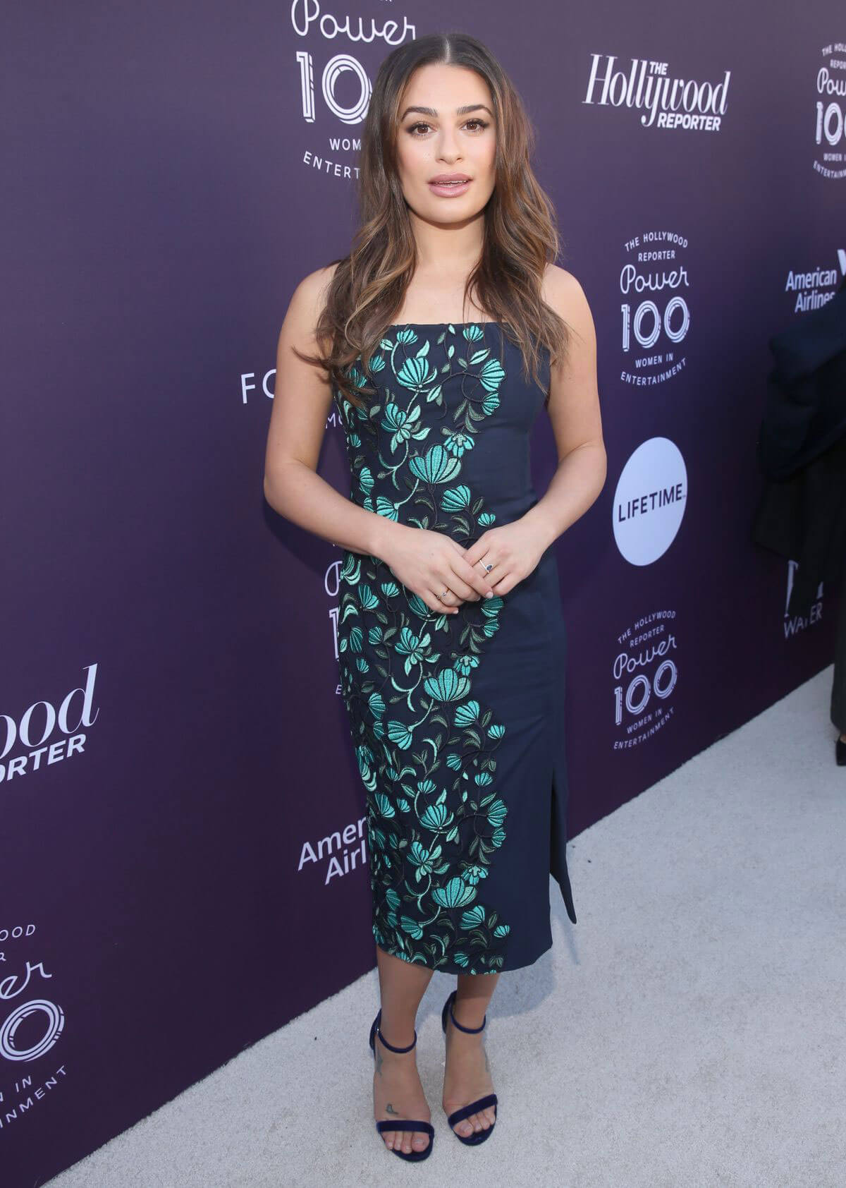 Lea Michele Stills at Hollywood Reporter's 2017 Women in Entertainment Breakfast in Los Angeles 2017/12/06