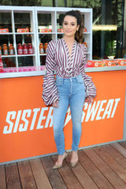 Lea Michele Stills at Teen Female Athletes Benefits of Staying in Sport in Santa Monica 2017/12/04