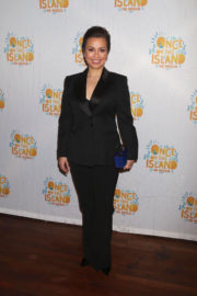 Lea Salonga Stills at Once on This Island Broadway Openingh Night in New York 2017/12/03