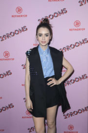 Lily Collins Stills at Refinery29 29Rooms Los Angeles: Turn It Into Art Opening Party 2017/12/06
