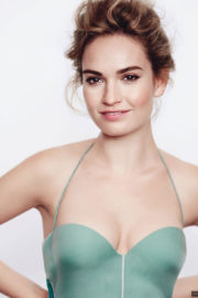 Lily James Poses for Vanity Fair, November 2017 Issue