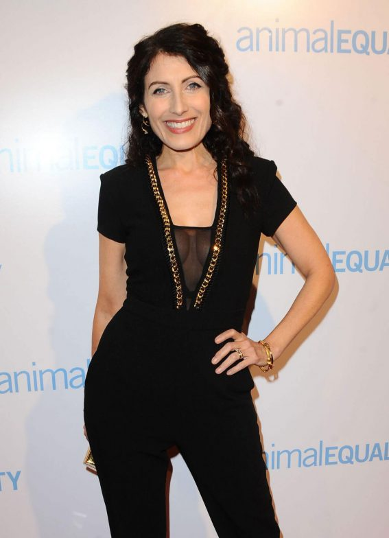 Lisa Edelstein Stills at Animal Equality Global Action Annual Gala in Los Angeles 2017/12/02