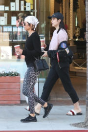 Lisa Rinna and Amelia Hamlin Stills Out for Coffee in Beverly Hills 2017/12/29