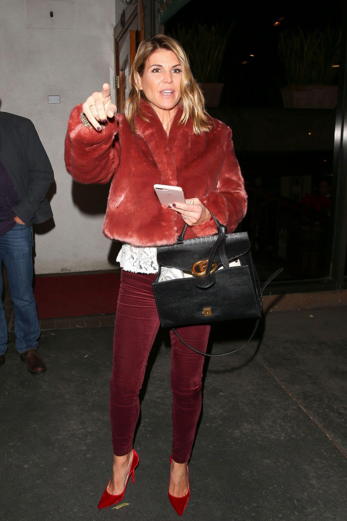 Lori Loughlin Stills at Madeo Restaurant in West Hollywood 2017/12/21