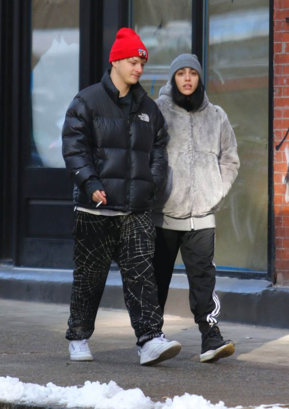 Lourdes Leon Stills Out with a Friend in New York 2017/12/14
