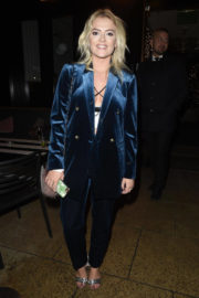 Lucy Fallon Stills Night Out in Manchester 2017/12/02