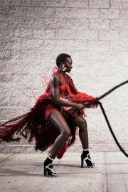 Lupita Nyong'o Poses for Vogue January 2018 Cover Issue