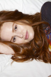 Madelaine Petsch Poses for 4everblu Blog, 2017