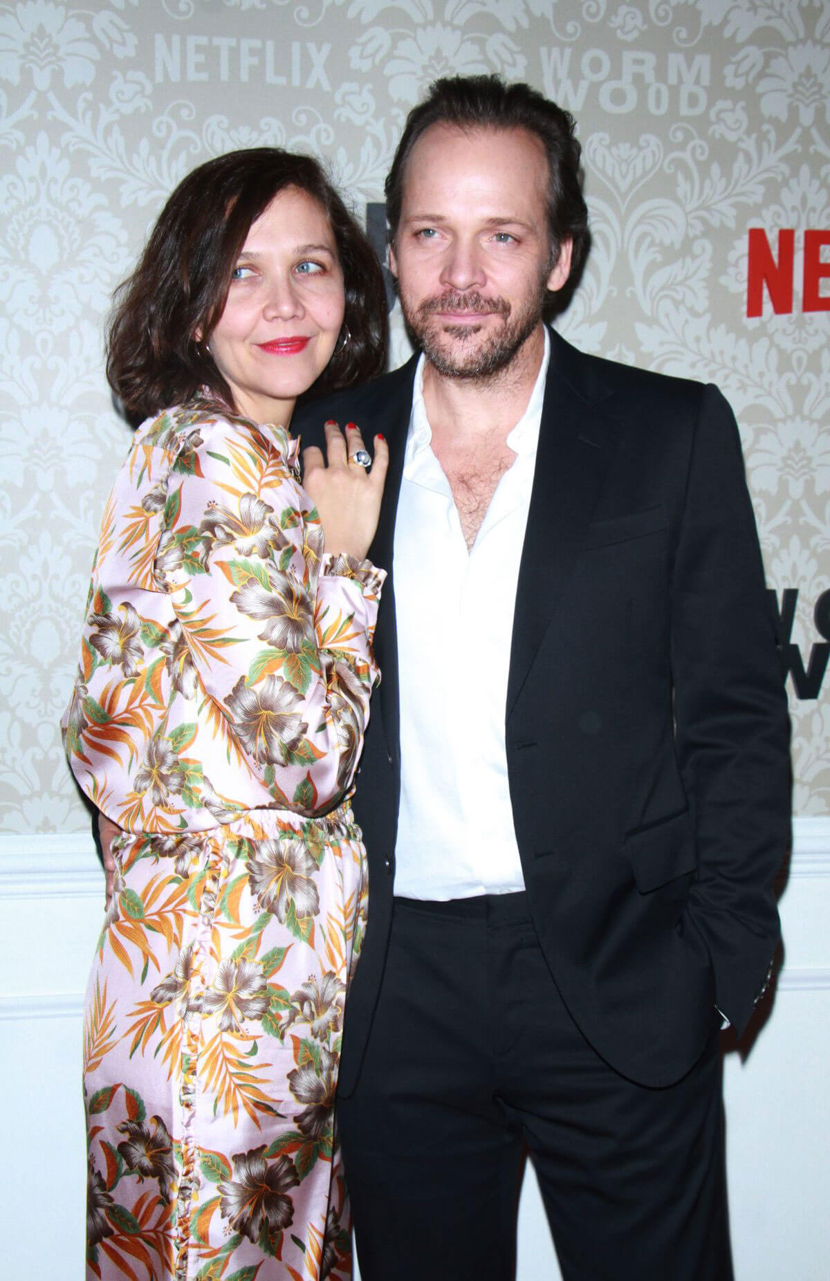 Maggie Gyllenhaal Stills at Wormwood Launch Party in New York 2017/12/12