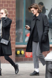 Maika Monroe and Joe Keery Stills Out in New York