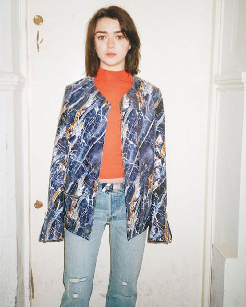 Maisie Williams Poses for Wonderland Magazine, Spring 2017 Issue