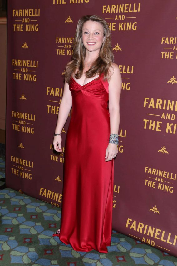 Margot White Stills at Farinelli and the King Broadway Opening Night in New York 2017/12/17