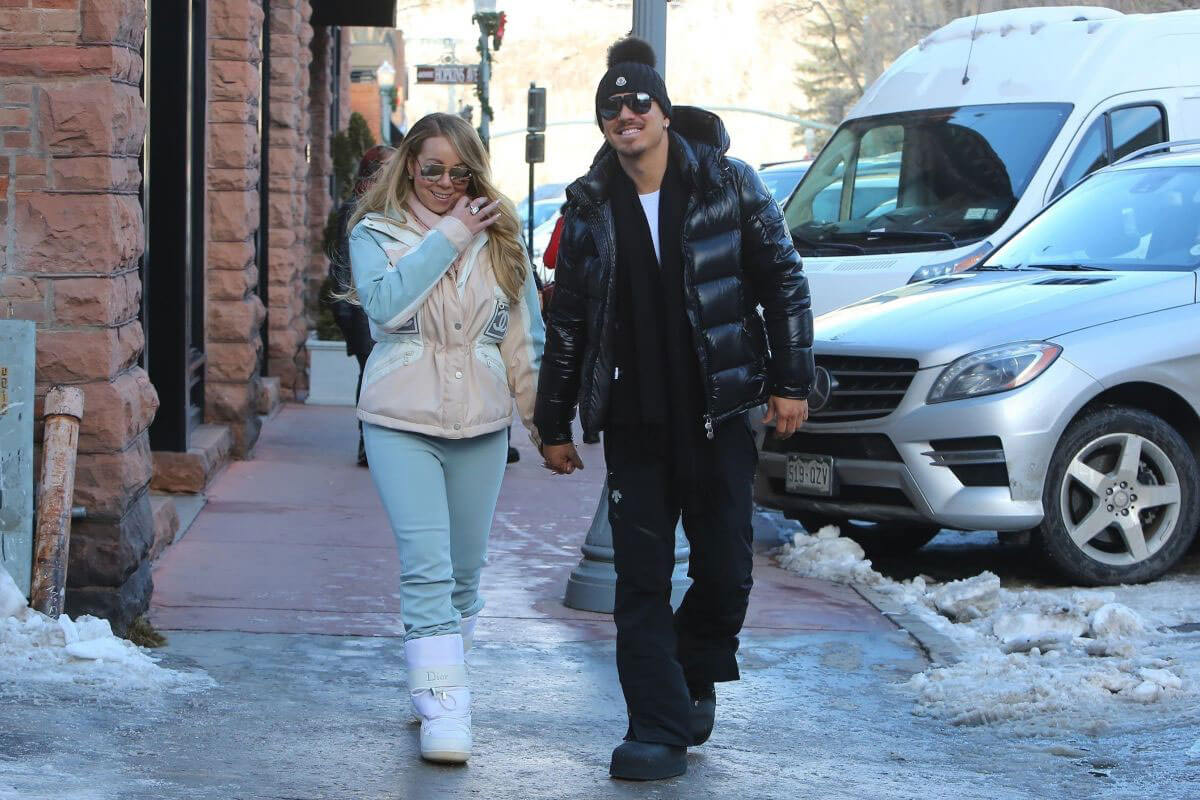 Mariah Carey and Bryan Tanaka Stills Out and About in Aspen 2017/12/27