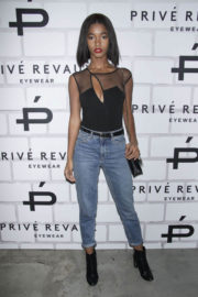 Mariana Diallo Stills at Prive Revaux Eyewear's Flagship Launch in New York 2017/12/04