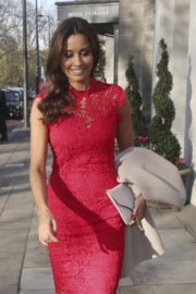Melanie Sykes Stills at Tric Awards Christmas Lunch in London 2017/12/12